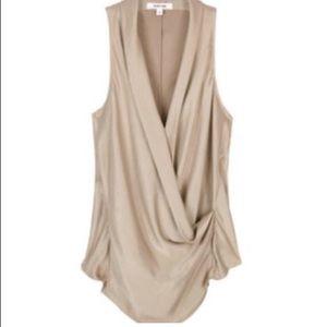 Helmut Lang draped top